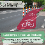 Pop-up Radweg am 3. Juni 2021 ab 17 Uhr