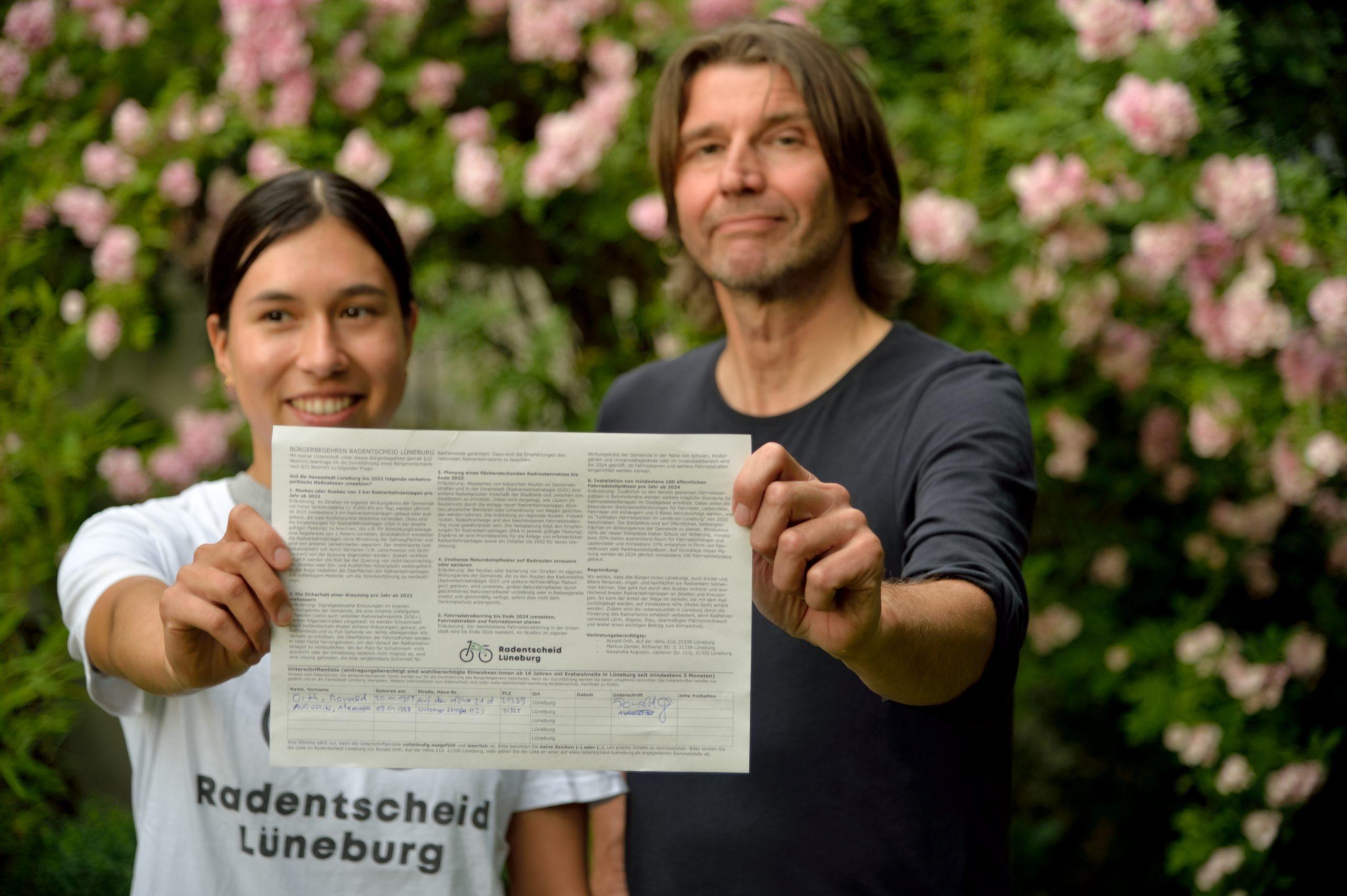 You are currently viewing Jetzt geht's los! – Radentscheid startet Unterschriftensammlung