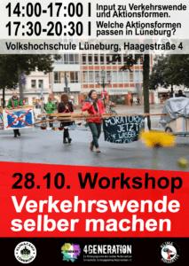 Read more about the article Workshop: Verkehrswende selber machen mit Jörg Bergstedt