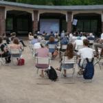 Wandelwoche: Fahrradkino im Kurpark